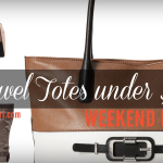 6 Travel Totes under $100 on stylishtravelgirl.com