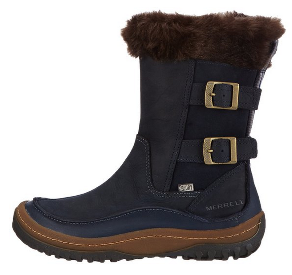Merrell Decora Chant winter boot on stylishtravelgirl.com