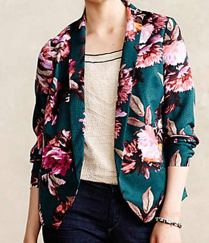 Rihan blazer at Anthropologie