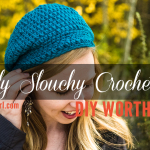 "DIY Worth A Try: Travel in Style with the ""Slightly Slouchy Crochet Hat"" // via iheartstitching.com"