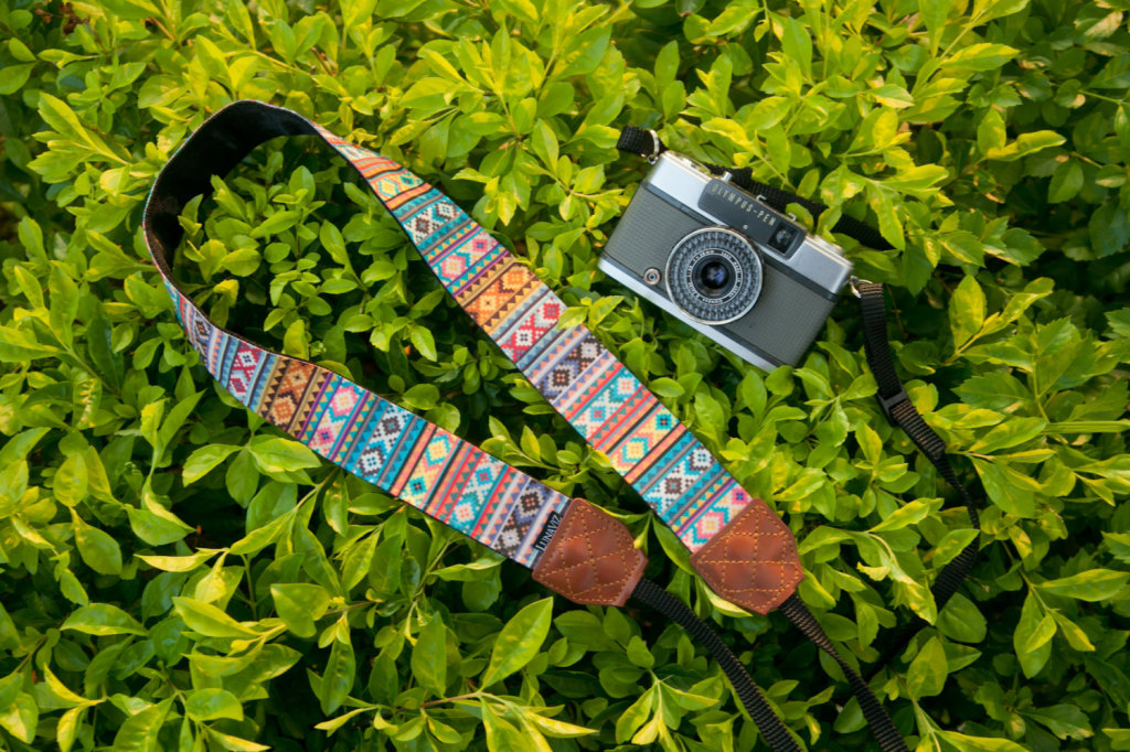 Soul of Tribal DSLR Camera Strap by lunaviz