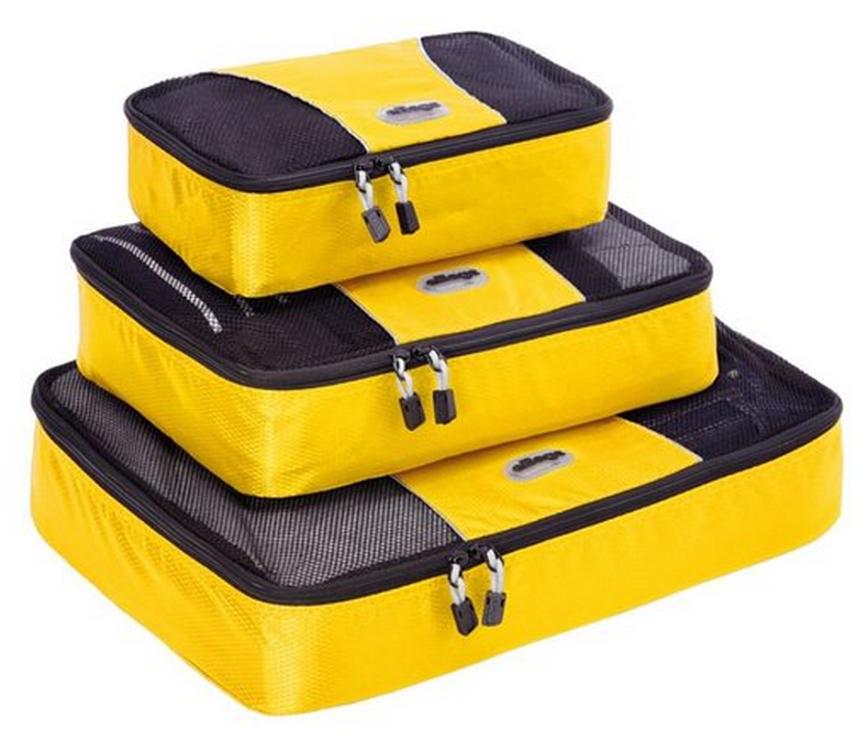 eBags multisize packing cube set