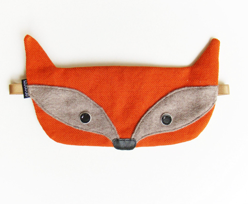 Fox Sleep Eye Mask by szududu