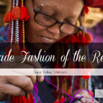 Handmade Women's Fashion of the Red Dao