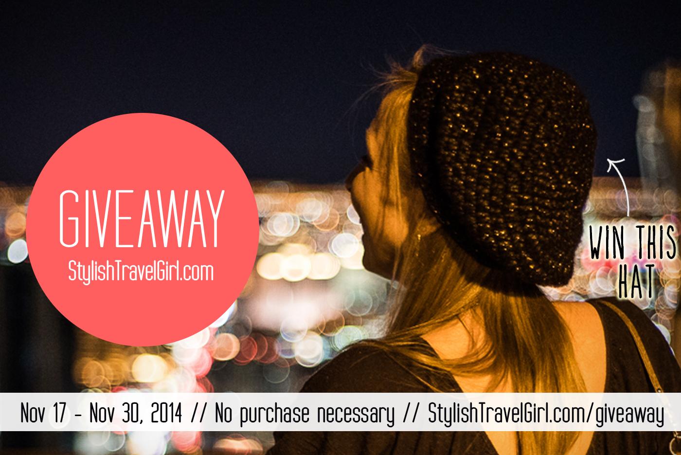 StylishTravelGirl.com Hat Giveaway