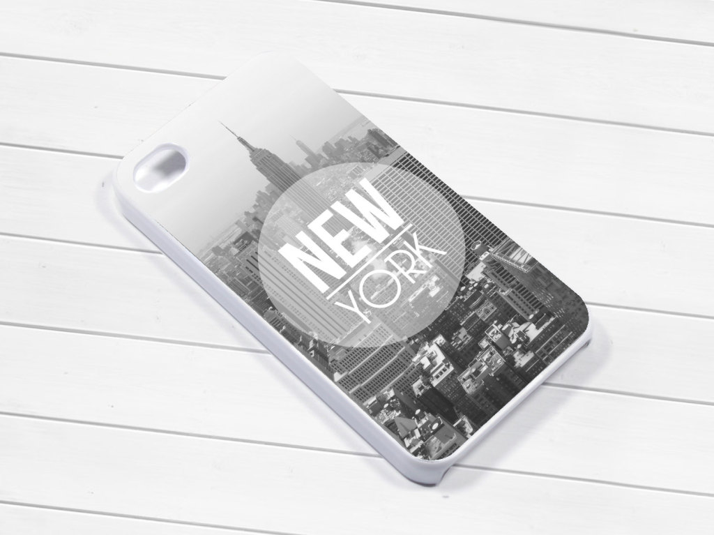 New York Themed iPhone Case by 103Designs