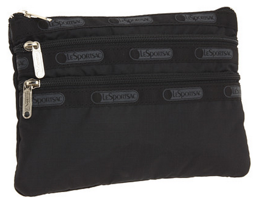 LeSportsac 3-zip Cosmetic Case