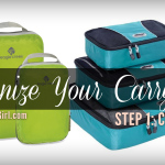 Organize Your Carry-On Step 1: Keep Your CLOTHING Organized