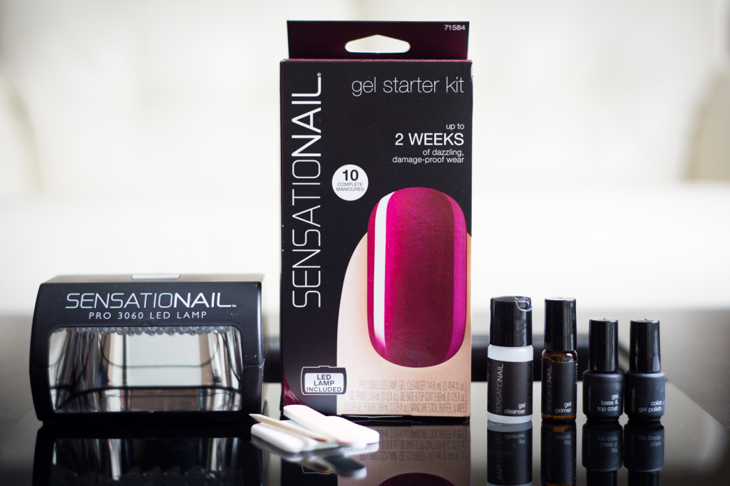 Sensationail gel starter kit contents
