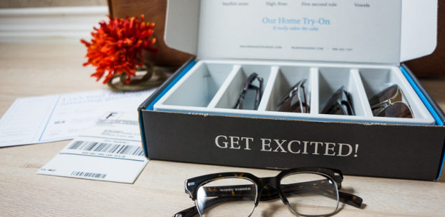 Warby Parker box contents