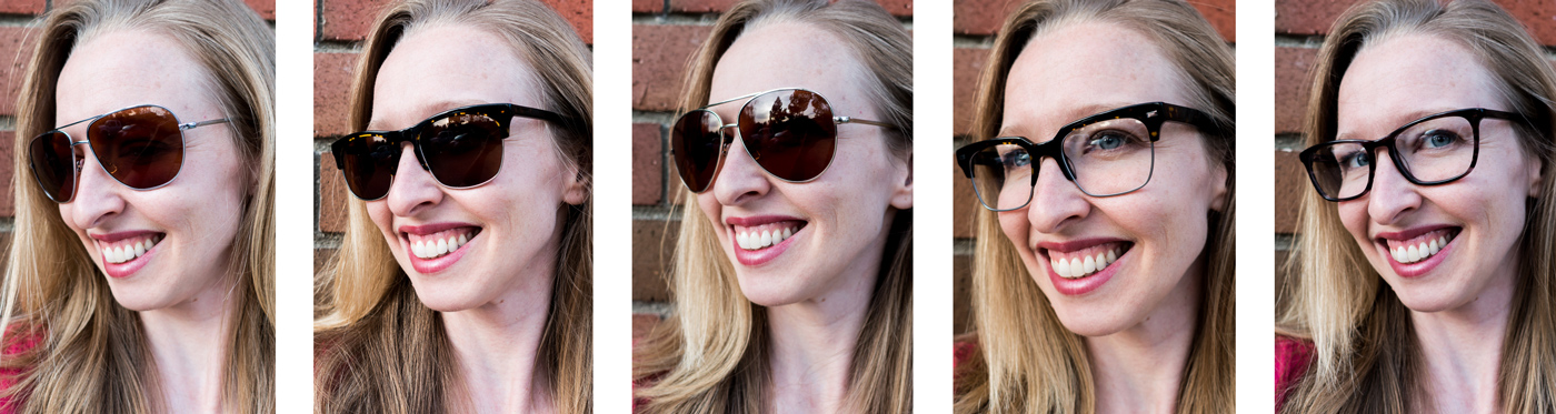 Warby Parker glasses lineup