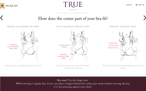 True and Co fit quiz