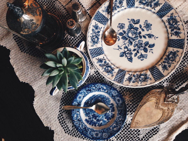 Juniper and Lane Vintage dishes