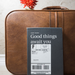 "Warby Parker ""Good things await you."""