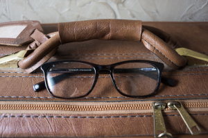 Welty style glasses from Warby Parker