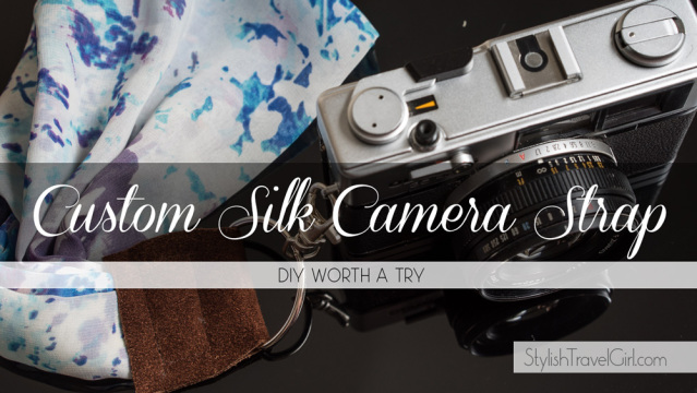 Glam Up Your Camera with a Pro-Quality DIY Silk Scarf Strap