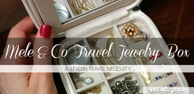 The Mele and Co Travel Jewelry Box: A Stylish Travel Necessity