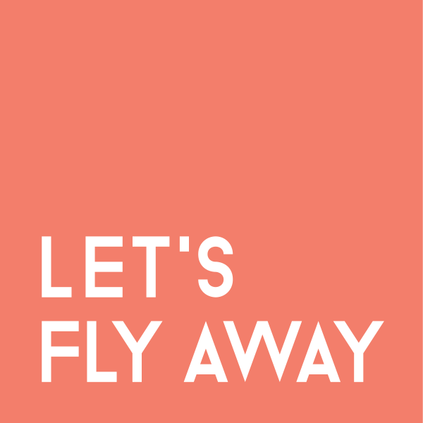 """Let's fly away"" travel quote"