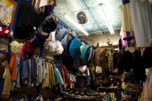 Armstrongs: vintage shopping in Edinburgh