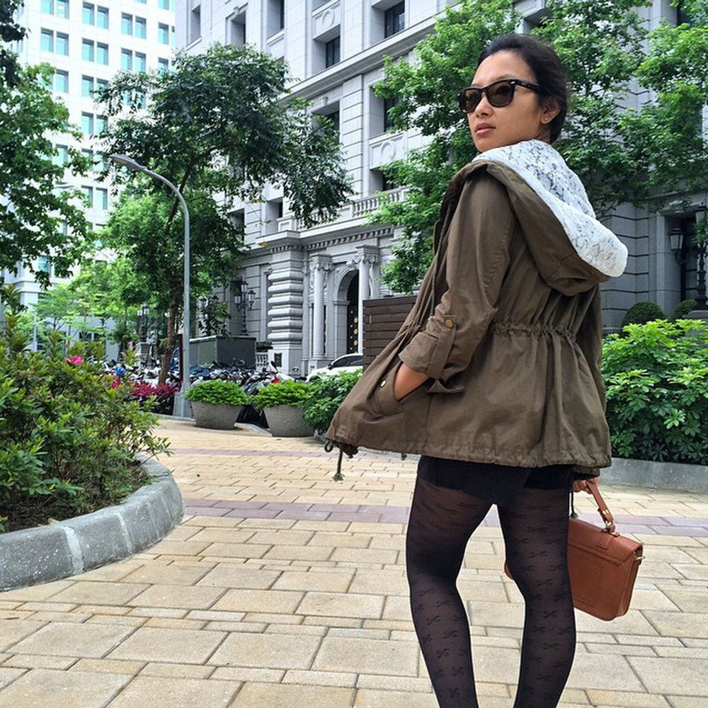 Taipei fashion on Instagram by Slightly Astray