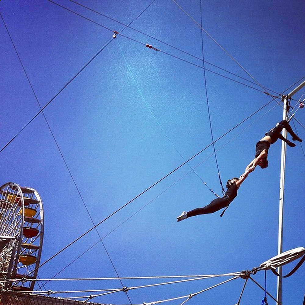 trapeze school TSNY on Instagram by thindyrocks