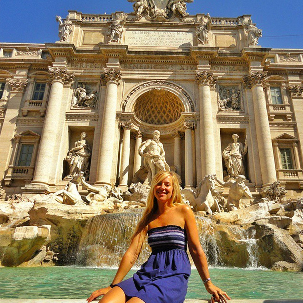 Trevi Fountain on Instagram by worldwanderista