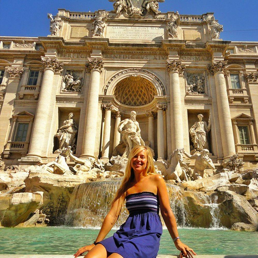 Trevi Fountain on Instagram by worldwanderista