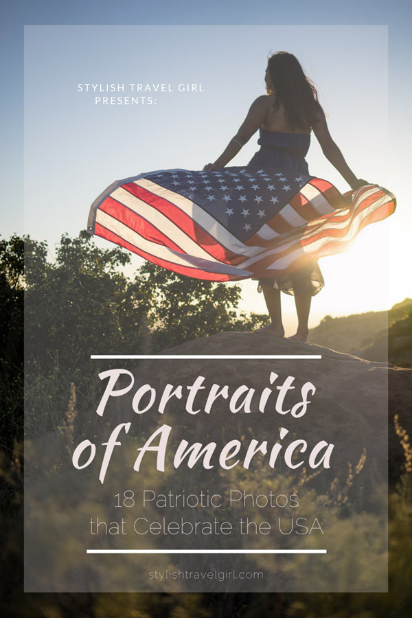 Portraits of America: 18 Patriotic Photos of American Women in Breathtaking U.S. Landscapes