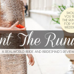 Rent The Runway bridesmaids dress review