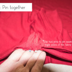 Step 13: Pin together