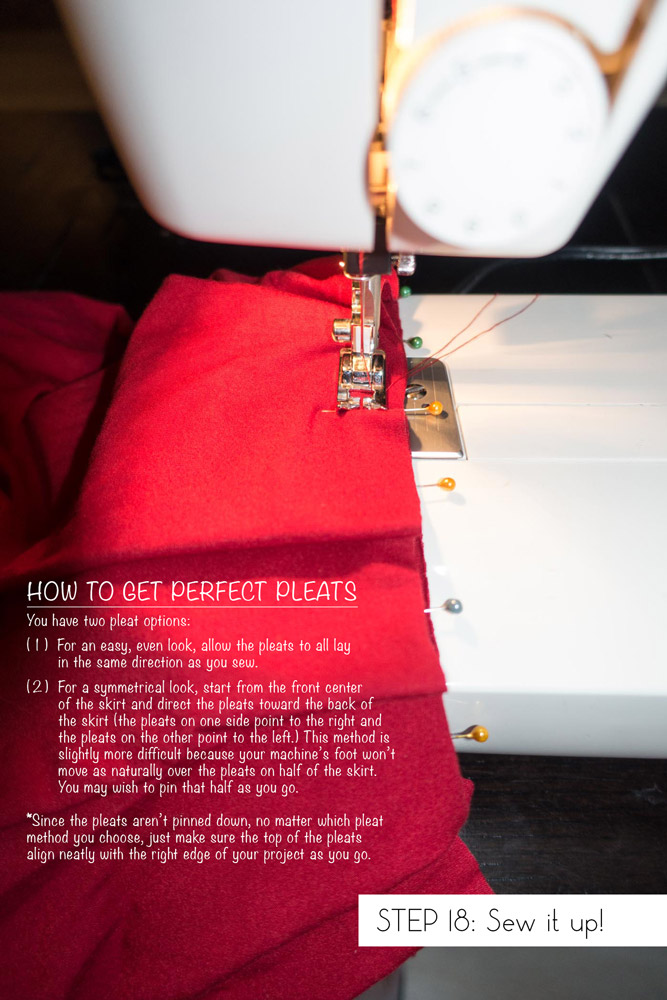 Step 18: Sew it up!