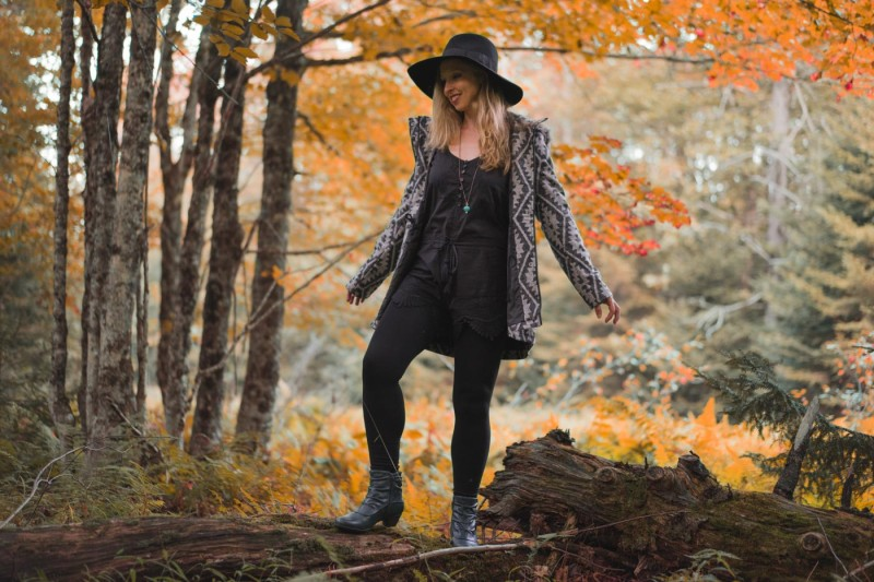 Fall Transition outfit on Stylish Travel Girl