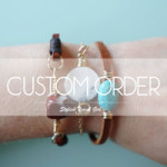 Stylish Travel Girl custom jewelry order on Etsy