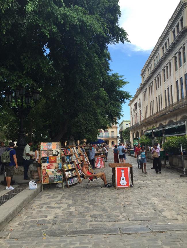 Plaza de Armas in Havana