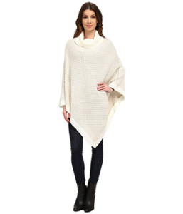 Soft, cozy, and lightweight upper-body warmth: CK Sweater Poncho - bit.ly/1L5PZFh