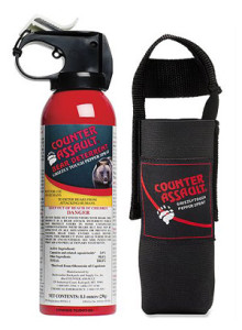 Stylish Travel Girl's Holiday Gift List: Counter Assault Bear Deterrent || http://amzn.to/1QFLXL1