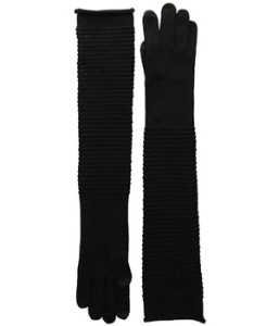 Long gloves to keep her warm from fingertips to elbows: Echo Design Gloves - bit.ly/1NYVREW
