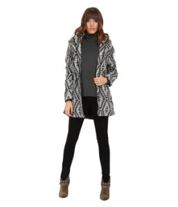 A stylish, light, hooded coat with fur trim for chilly weather: Jack by BB Dakota Jacket - bit.ly/1HC6xV8