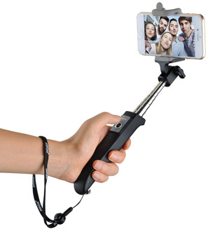 Mpow iSnap selfie stick (iOS and Android compatible) - amzn.to/1My7YGj