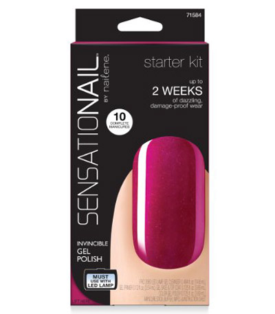 For the gal who does her own nails, gift her the BEST at-home gel kit we've ever tried (and it's affordable!): Sensationail At-Home Gel Nail Starter Kit - amzn.to/1WUGu89
