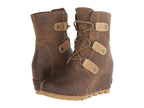 A practical heeled boot that's perfect for snowy weather: SOREL Joan of Arctic wedge winter boots - http://bit.ly/1kjZXxW