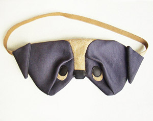 Satin Pug Eye Mask by Szududu - etsy.me/1MOf4dx