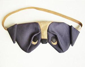 Satin Pug Eye Mask by Szududu - etsy.me/1MOf4dx