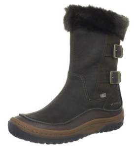 Sierra Snow Outfit on Stylish Travel Girl: Merrell Decora Chant Waterproof Winter Boot