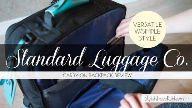 Standard Luggage Co. Carry-On Backpack Review: Versatile Function Meets Simple Style