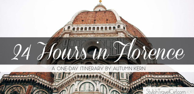 24 Hours in Florence: A One-Day Itinerary by Autumn Kern
